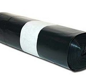 BOLSAS DE BASURA NEGRA 0,8 MICRONES ( 110 cms  x 120 cms  x 0.8 micrones) Saco de 100 unidades.