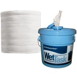 Paño Wet Task Caja x 2 rollos, 275 paños por rollo.