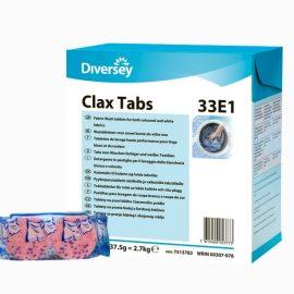 Clax TABS - Pastilla detergente para máquinas automáticas de ropa