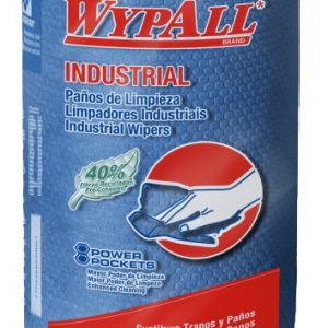 PAÑO WYPALL X-75 INDUSTRIAL REGULAR ROLL CAJA 6 BOLSAS 60 PAÑOS