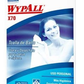 TOALLA DE BAÑO WYPALL X-70 CAJA 150 BOLSAS 1 TOALLA