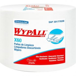 PAÑO WYPALL X-60 JUMBO ROLL  (BOLSA 890 PAÑOS)
