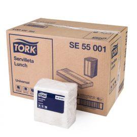 TORK UNIVERSAL SERVILLETA LUNCH H/S 20X500 HJ