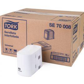 TORK UNIVERSAL SERVILLETA INTERFOLIADA H/S 24X250 HJ